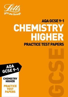 AQA GCSE 9-1 Chemistry Higher Practice Test Papers by Collins image