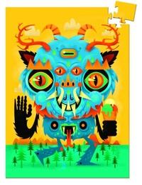 Djeco: 60pc Mini Puzzle - The Monster
