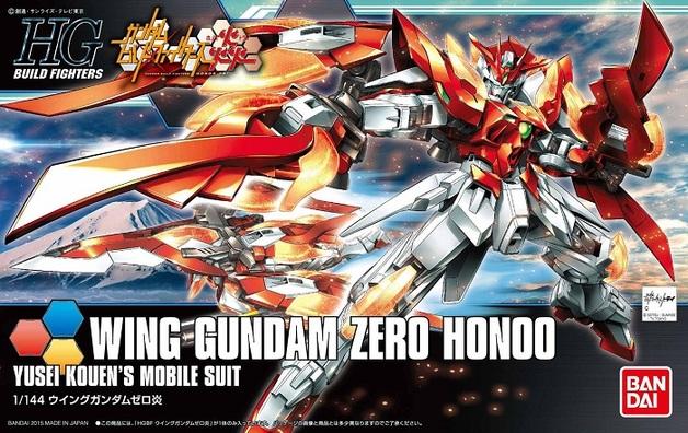 HGBF 1/144 Wing Gundam Zero Honoo - Model Kit