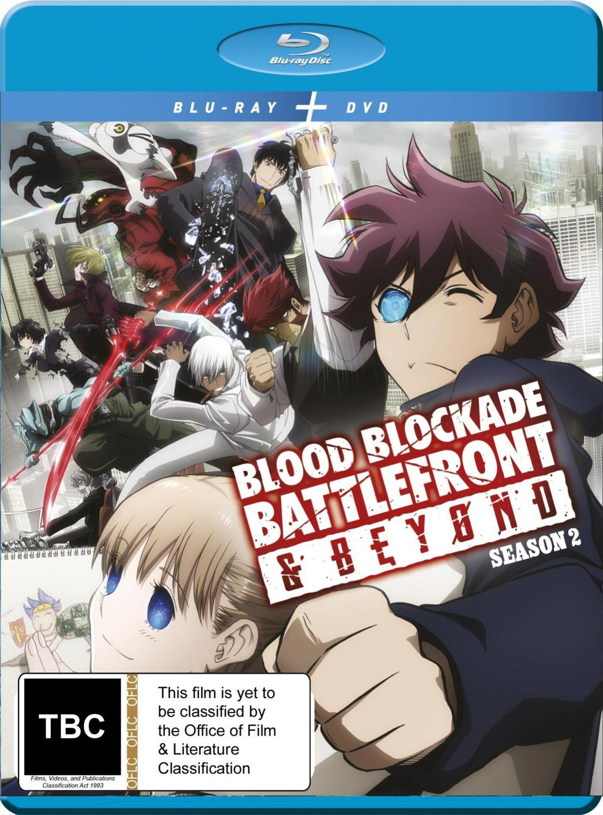 Blood Blockade Battlefront & Beyond: Season 2 on DVD, Blu-ray image