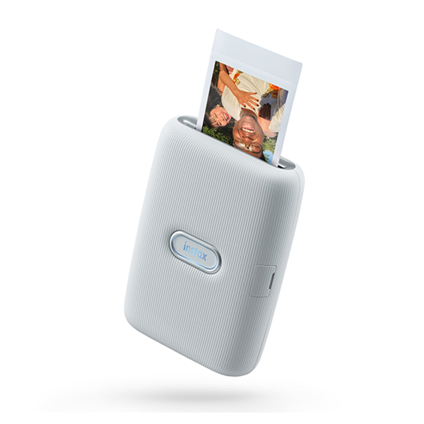 Fujifilm Instax Mini Link Photo Printer - Ash White