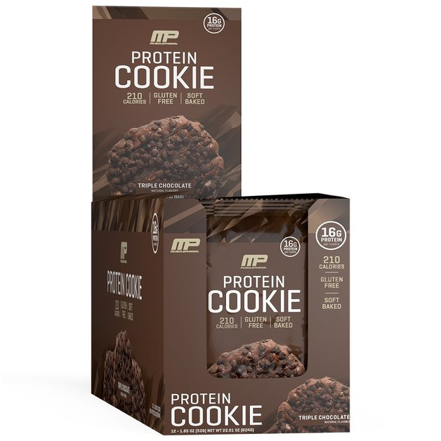 MusclePharm: Combat Cookie - Triple Chocolate (Box of 12)
