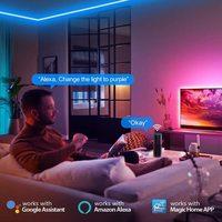 Smart Ape: WiFi App Controlled LED strip RGB 2M Kit - 2 Pack