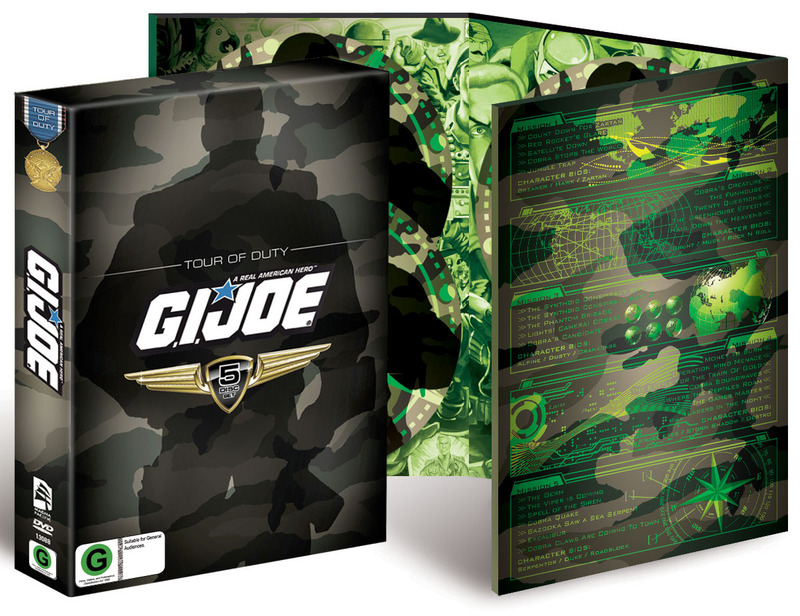 G.I. Joe - Tour of Duty (5 Disc Box Set) on DVD image