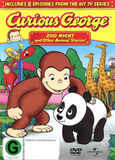 Curious George - Vol. 1: Zoo Night And Other Animal Stories! on DVD