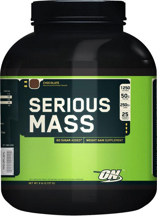 Optimum Nutrition Serious Mass - Chocolate (2.72kg)
