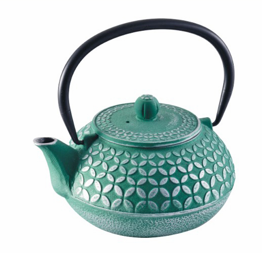 Cast Iron Teapot - Seven Jewels Teal (1L)