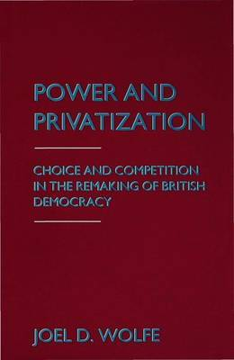 Power and Privatization by Joel D. Wolfe