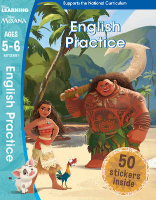 Moana - English Practice (Ages 5-6) by Scholastic image