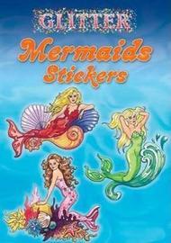 Glitter Mermaids Stickers by Eileen Rudisill Miller