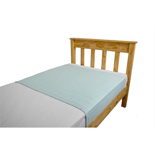 Brolly Sheets King Single Size Sheet Bed Pad - Pale Mint image