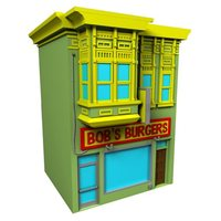 Bob's Burgers Building - Coin Bank