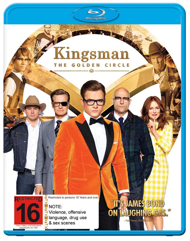 Kingsman: The Golden Circle on Blu-ray