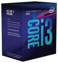Intel Coffee Lake Core i3 8100 4-Core CPU