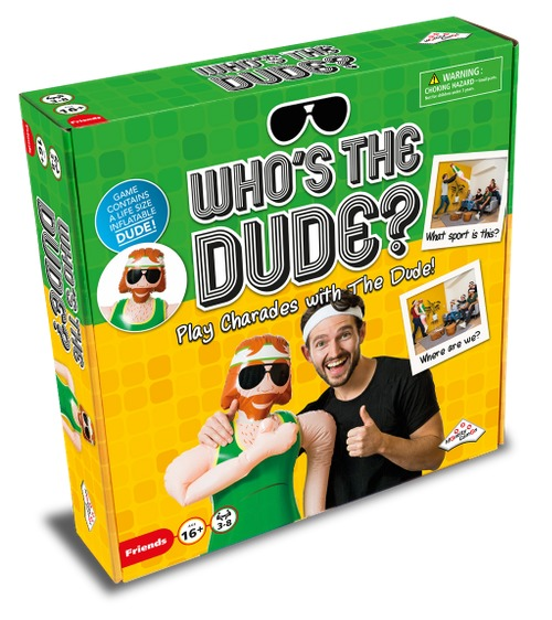 Who's the Dude - The Game of Charades image