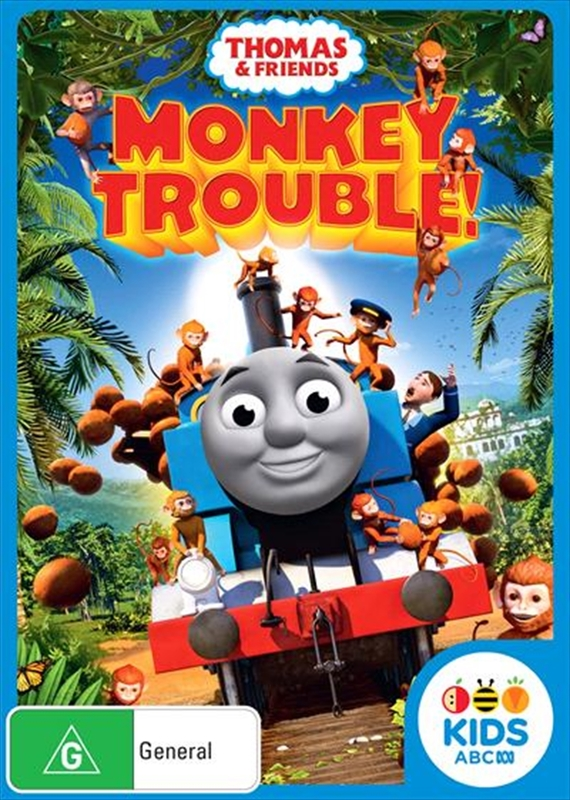 Thomas & Friends: Monkey Trouble on DVD