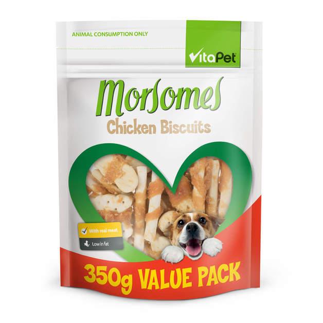 Vitapet: Morsomes Chicken Biscuits (350g)