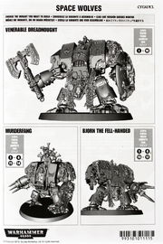 Warhammer 40,000 Space Wolves Venerable Dreadnought image