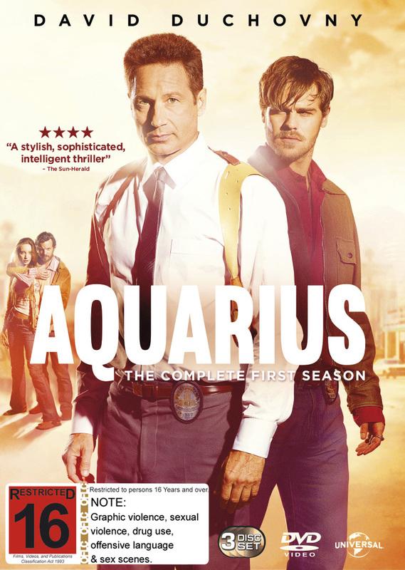 Aquarius Season 1 on DVD