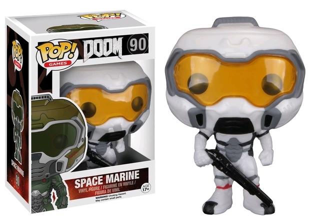 Doom - Space Marine (Hazmat) Pop! Vinyl Figure