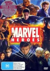 Marvel Heroes (6 Disc Box Set) on DVD