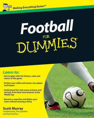 Football For Dummies by Scott Murray image