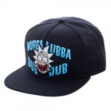 Rick & Morty: Wubba Lubba Dub Dub - Snapback Cap
