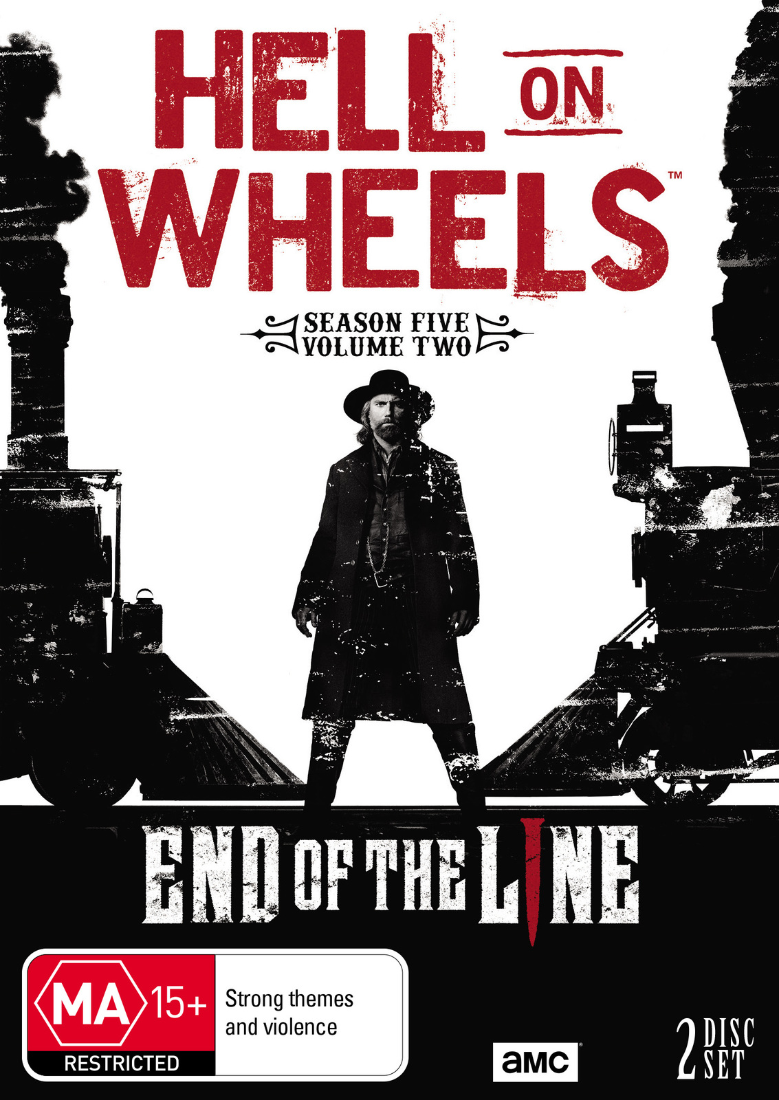 Hell on Wheels: Season Five - Part 2 on DVD image