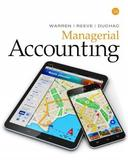 Managerial Accounting by Jonathan Duchac