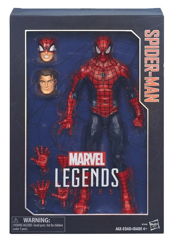 "Marvel Legends: Spider-Man - 12"" Action Figure"
