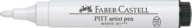Faber-Castell: Pitt Artist Pen - White (2.5mm)