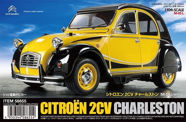 TAMIYA 1/10 R/C Citroën 2CV Charleston (M-05) - Assembly kit image