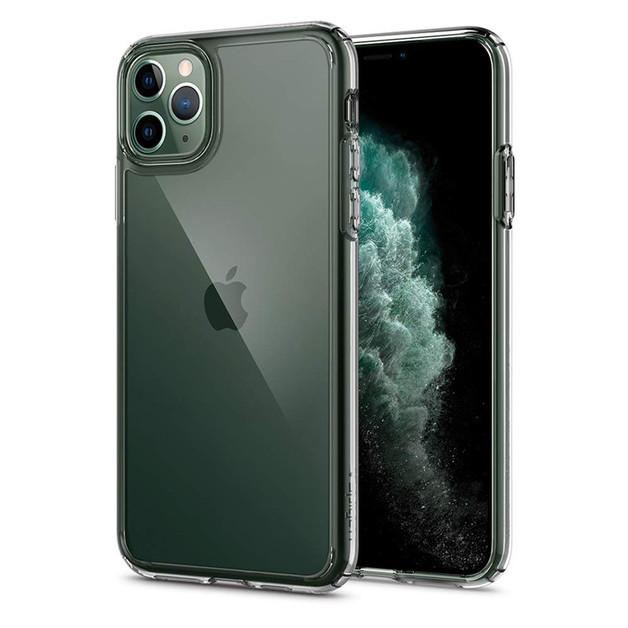 Spigen: iPhone 11 Pro Ultra Hybrid Case - Crystal Clear