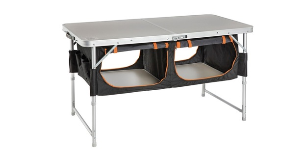 Kiwi Camping Bi-Fold Table with Pantry