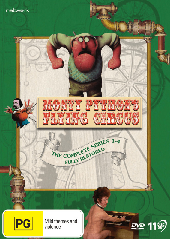 Monty Python's Flying Circus: The Complete Series (Restored) on DVD