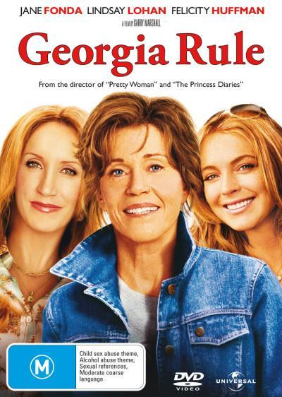 Georgia Rule on DVD image