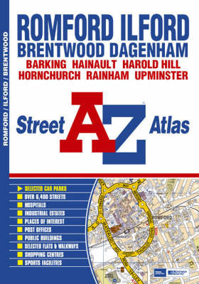 Romford and Ilford Street Atlas by Great Britain