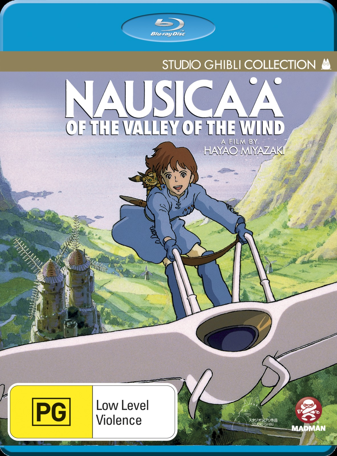 Nausicaa of the Valley of the Wind on Blu-ray image