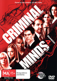 Criminal Minds - Season 4 (7 Disc Set) on DVD