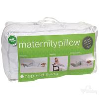 Inspired Mother Maternity Pillow and White Pillow Case
