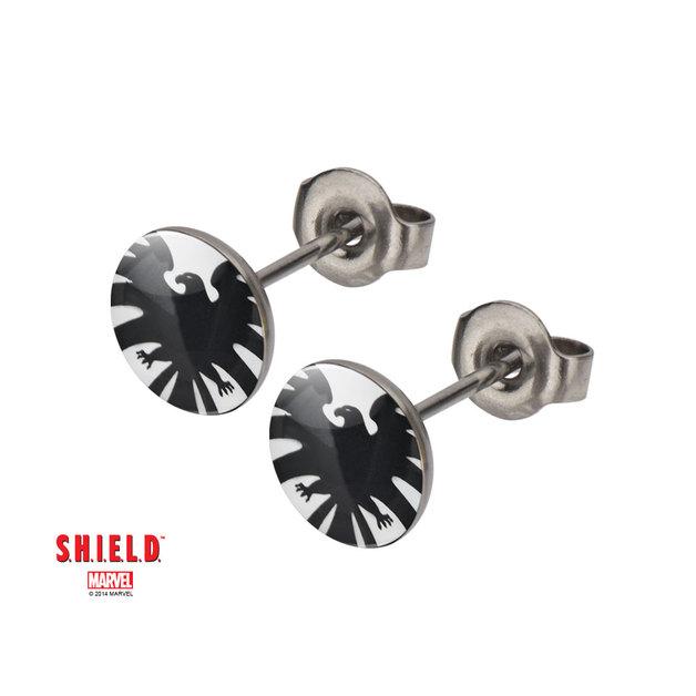 Marvel: S.H.I.E.L.D Symbol Stud Earrings