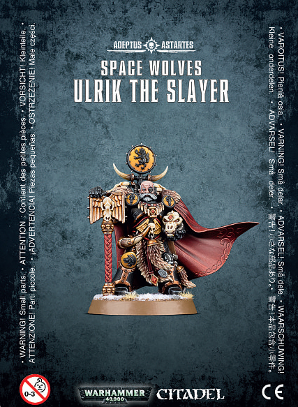 Warhammer 40,000 Space Wolves Ulrik the Slayer