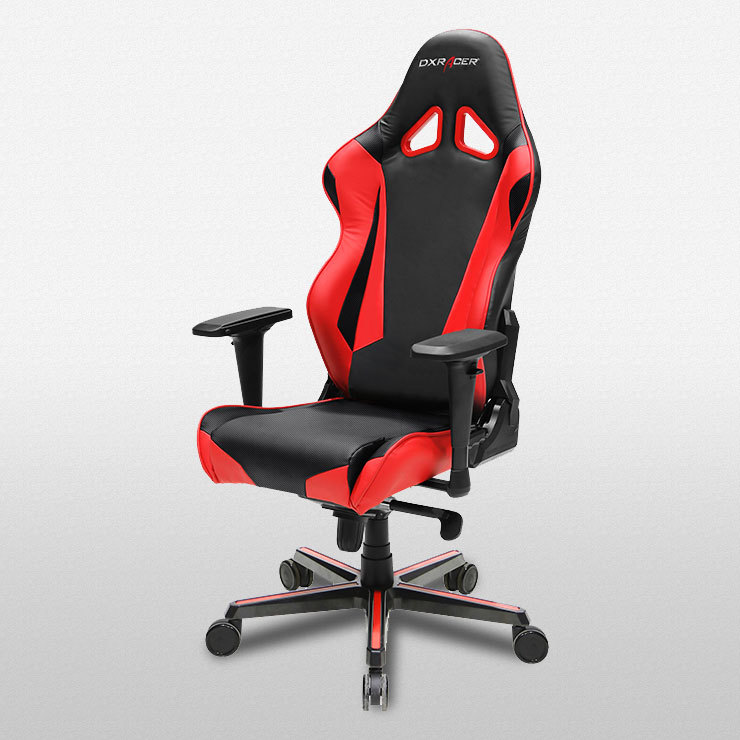 dxracer racing series rz0 gaming chair black