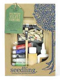 Seedling: Make your own Velvet Painting