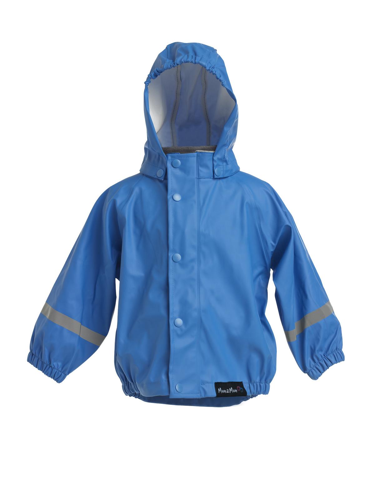 Mum 2 Mum Rainwear Jacket - Royal Blue (12 months) image