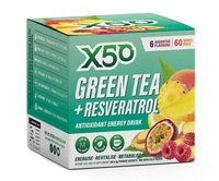 Green Tea X50 + Resveratrol - Assorted (60 Serves)