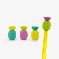 Mustard: Tropical Eraser Pencil Toppers
