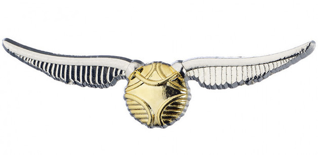 Harry Potter: Pin Badge Golden Snitch