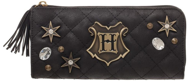 Harry Potter: Hogwarts Quilted - Zip-Around Wallet