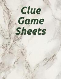 Clue Game Sheets by Parker Lee image